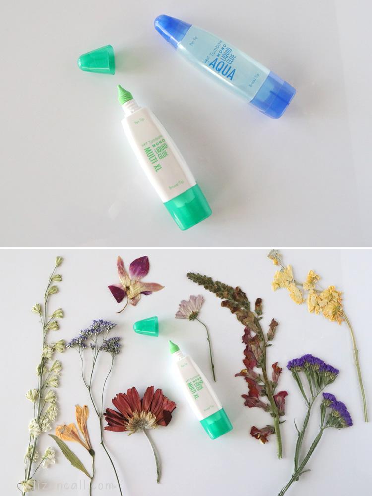 easy Pressed Flower Art