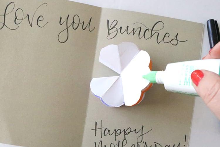 Flower Pop Up Card 9.2