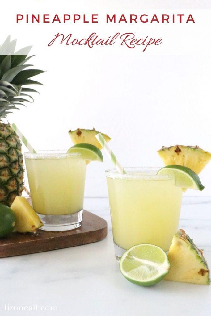 Pineapple Margarita Mocktail 1