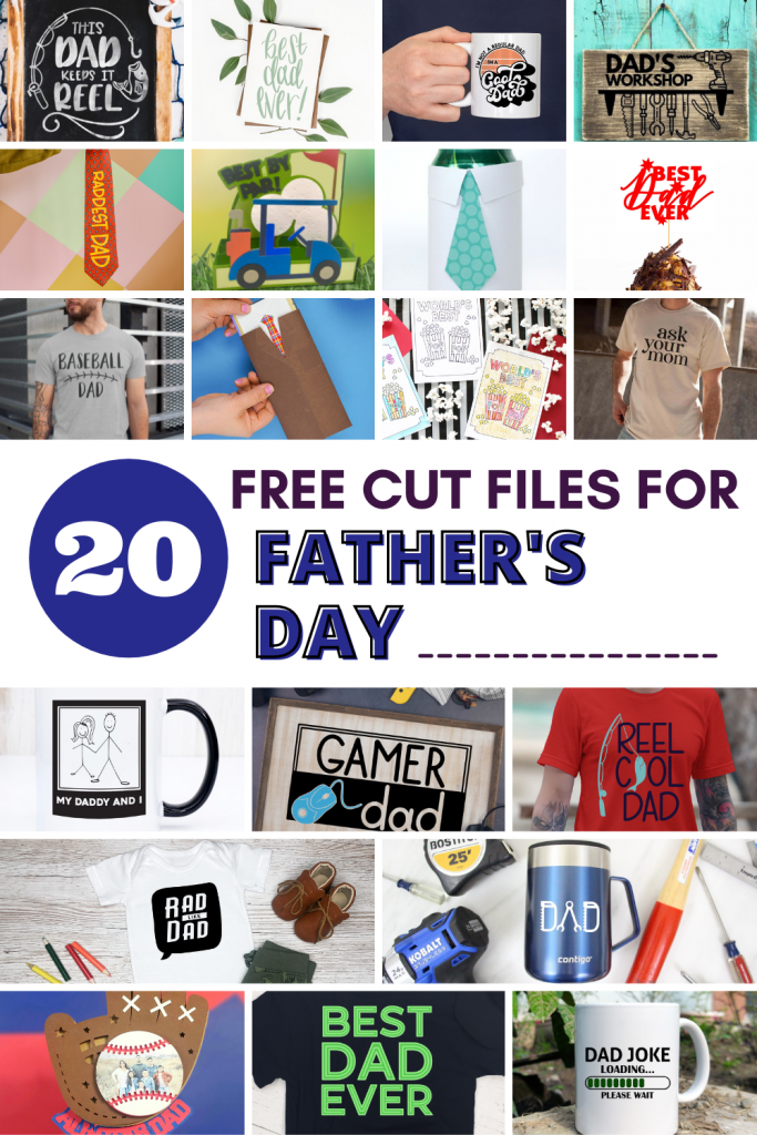 Svg Design Squad Collage Template Fathers Day