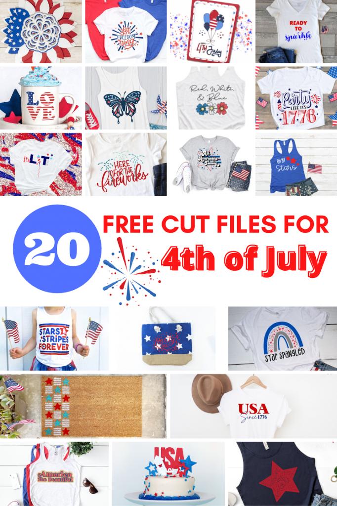20 free patriotic cut files