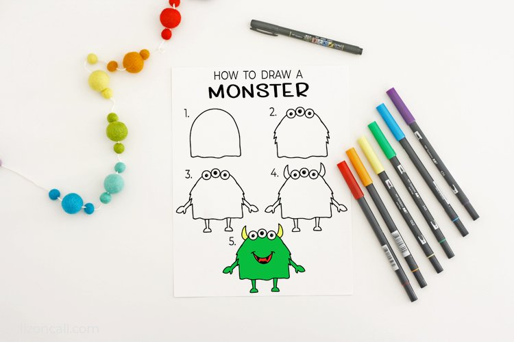 How To Draw A Monster 2