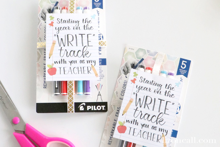 Write Track Teacher Tag 5