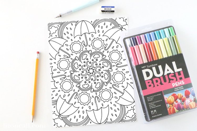 Weather Coloring Page 2