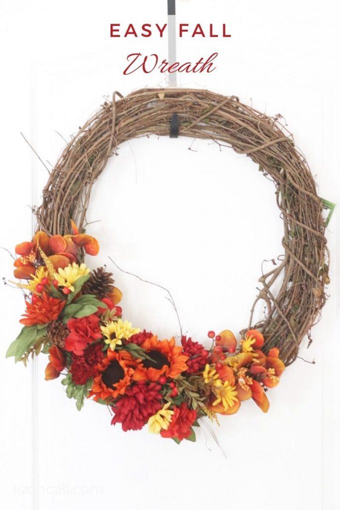 Easy Fall Wreath 1