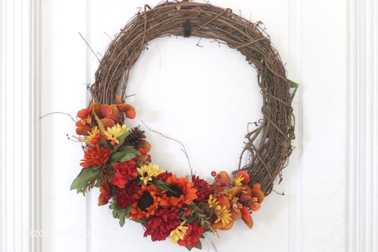 Easy Fall Wreath 4