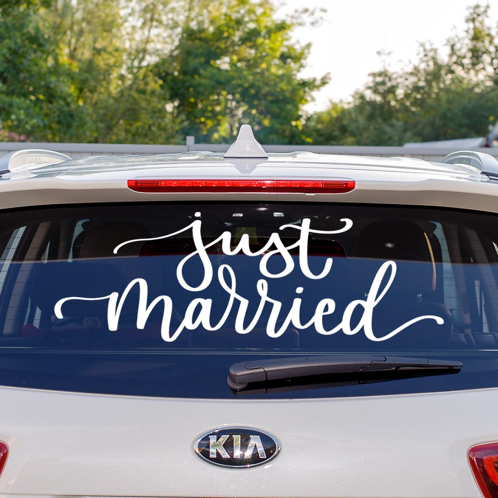 Just Married square 1