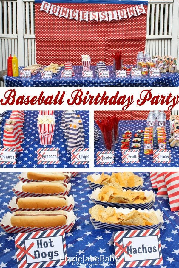 Baseball Themed Food Recipes