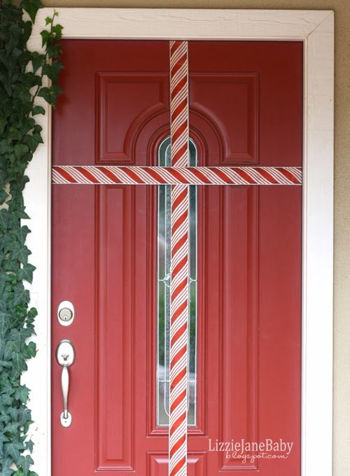 Gift Wrapped Front Door \u2013 with Tag & Gift Wrapped Front Door - with Tag - Liz on Call