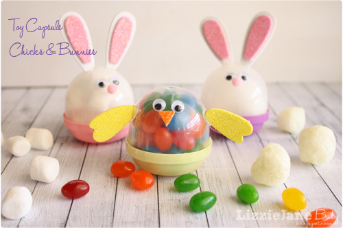 Toy Capsule Easter Characters